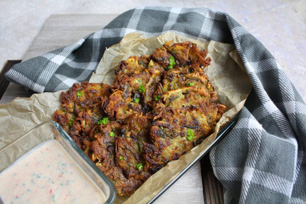 Kartoffel-Rucola-Rösti mit Dip | Toastenstein