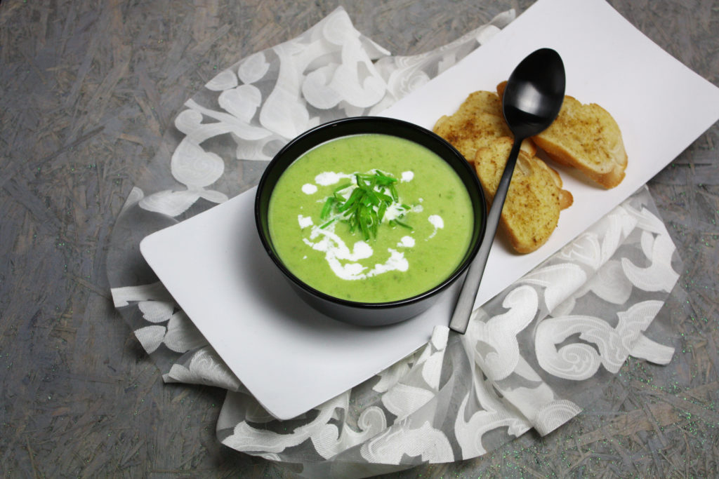 Pfiffige Zuckerschoten-Suppe | Toastenstein