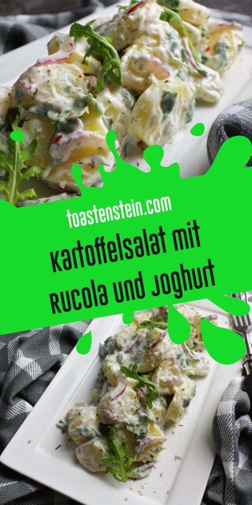Kartoffelsalat mit Rucola und Joghurt | Toastenstein