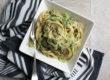 Cremige Pasta mit Pilzen und Pak Choi