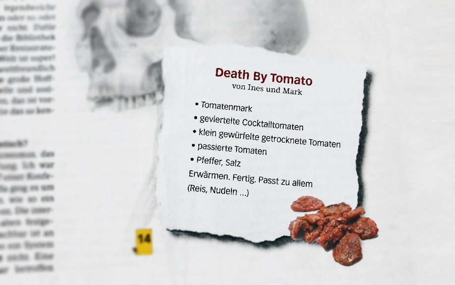 Death by Tomato - aus Kochen ohne Knochen