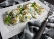 Kartoffelsalat mit Rucola und Joghurt