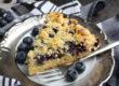 Schneller Streuselkuchen mit Blaubeeren
