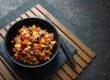 Chili sin Carne-Salat perfekt zum Mitnehmen