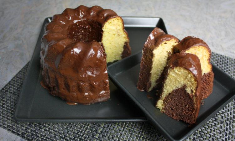 Vegan und lecker - Klassischer Marmorkuchen