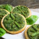 Mini-Quiches mit Spinat und grünen Bohnen