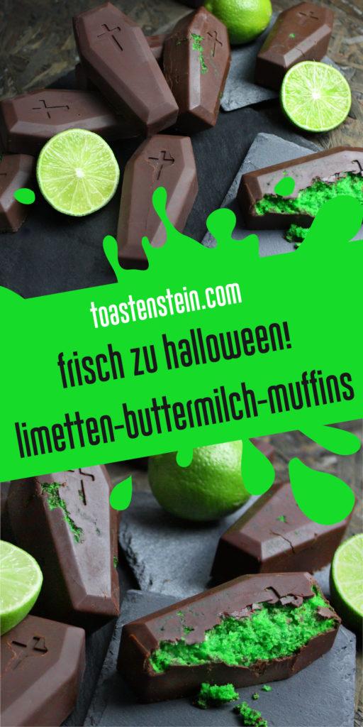 Limetten-Buttermilch-Muffins | Toastenstein