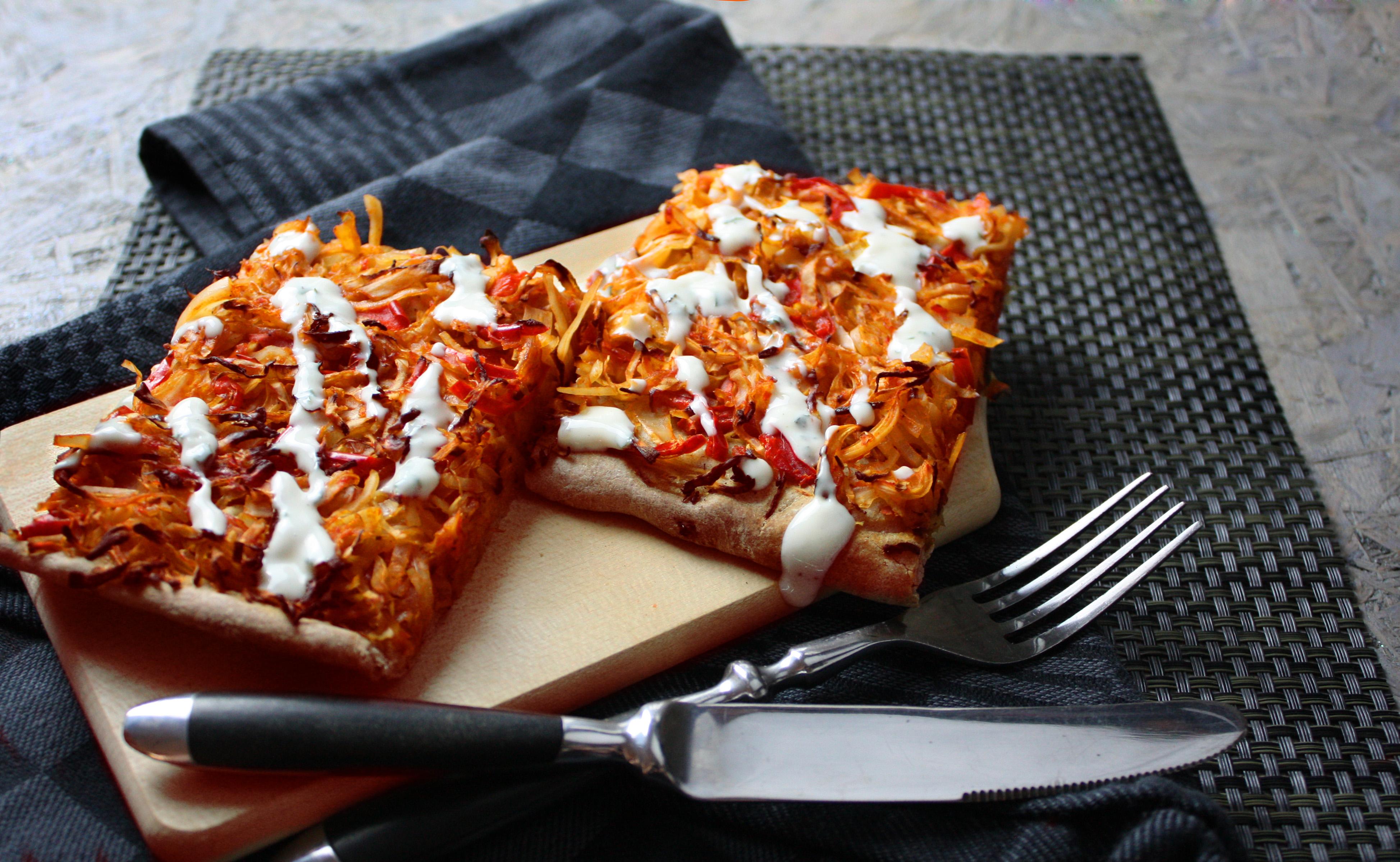 Simpel und Gut – Zwiebel-Kraut-Kuchen
