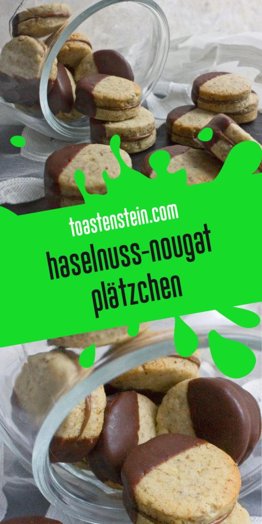 Schokoladige Haselnuss-Nougat-Plätzchen | Toastenstein