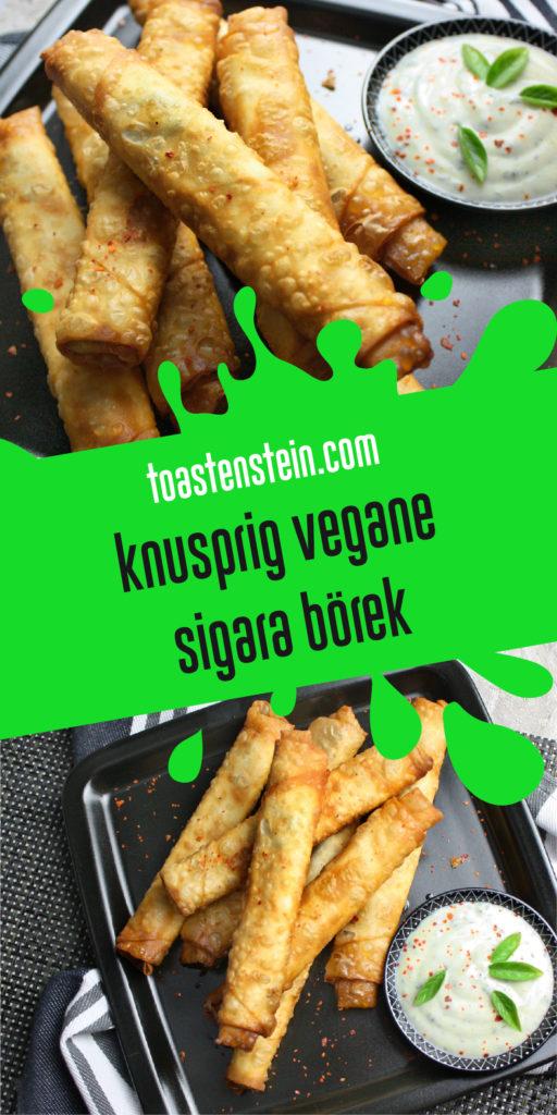 Knusprig vegane Sigara-Börek | Toastenstein