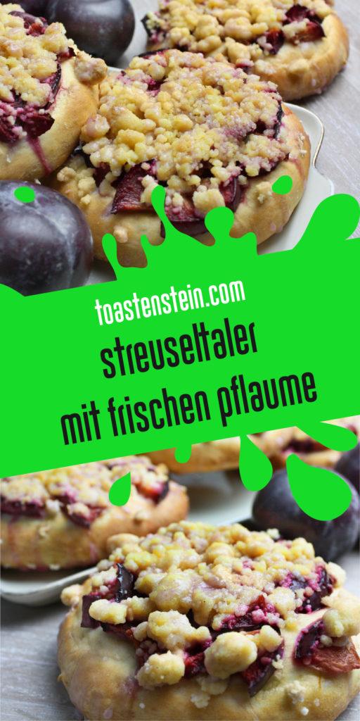 Saftige Streuseltaler mit Pflaumen | Toastenstein