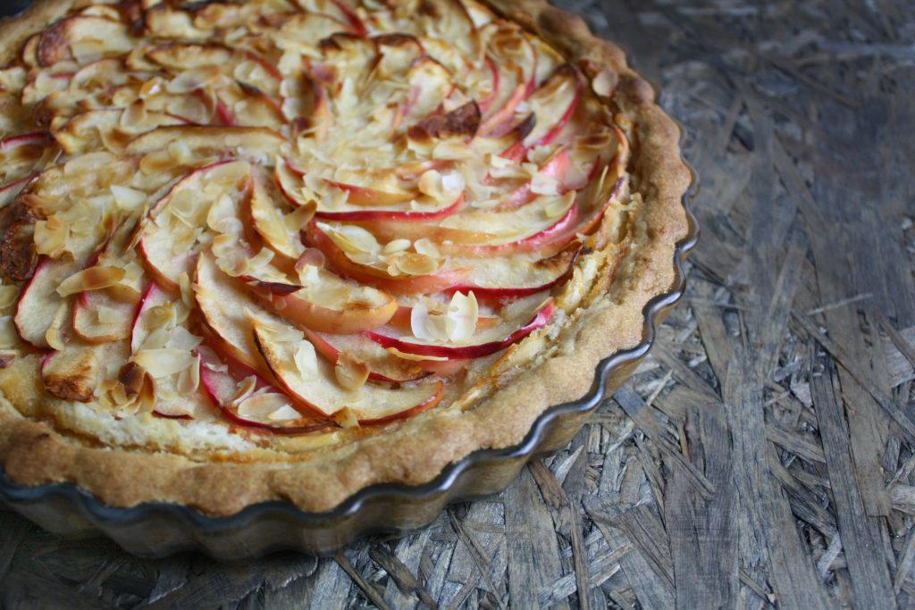 Apfel-Marzipan-Tarte