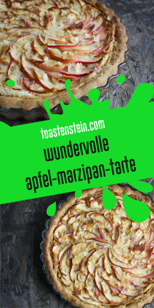 Apfel-Marzipan-Tarte | Toastenstein