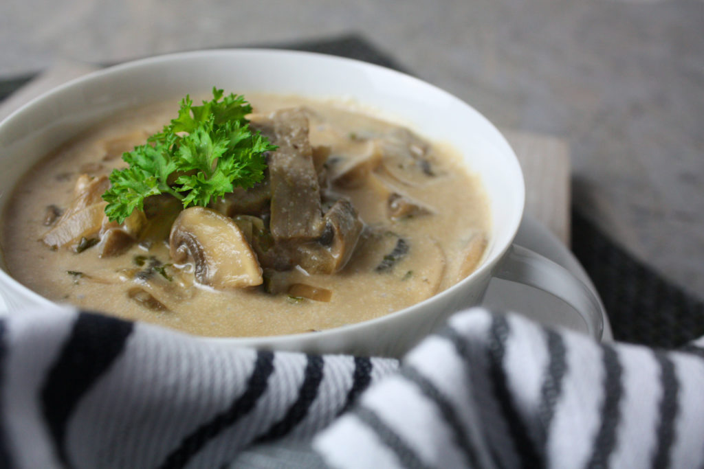 Champignon-Suppe | Toastenstein