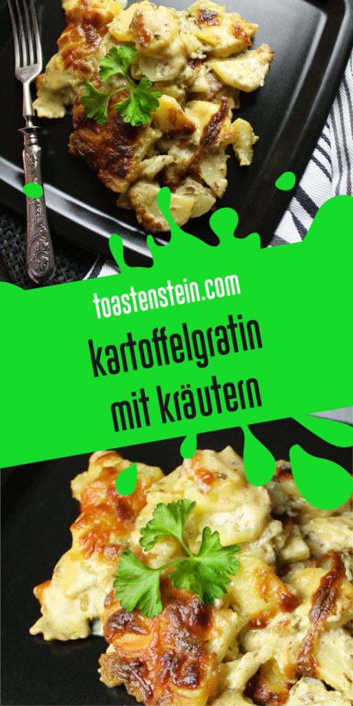 Kartoffelgratin mit Kräutern und Hefeschmelz | Toastenstein