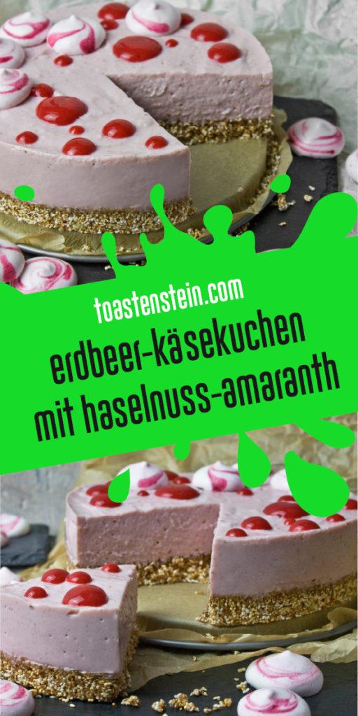 Frostiger Erdbeer-Käsekuchen | Toastenstein