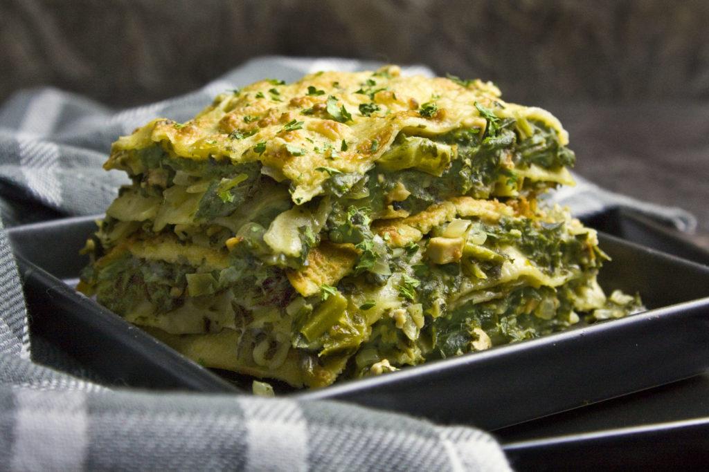 Grünkohl-Lasagne mit Bechamel-Sauce | Toastenstein