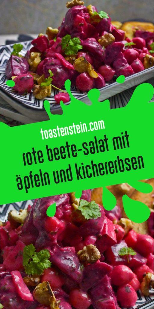 Rote Bete-Salat mit Apfel und Walnüssen | Toastenstein