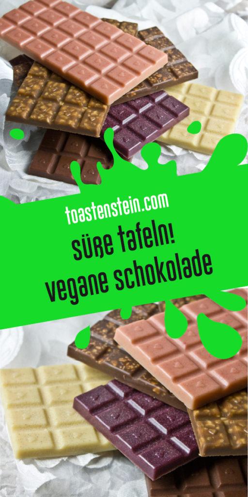 Süße Tafeln – Selbstgemachte vegane Schokolade | Toastenstein