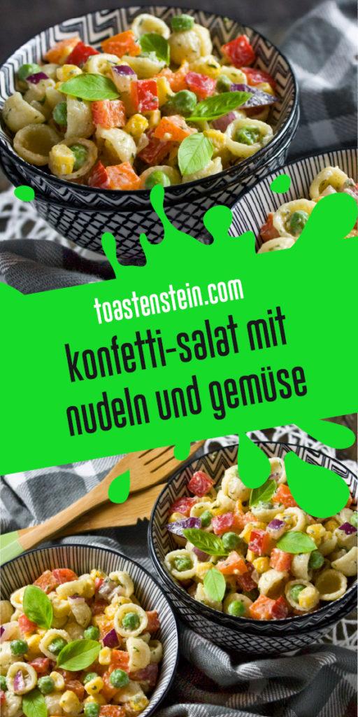 Bunter Konfetti-Salat