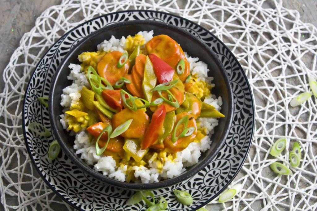 Möhren-Curry mit Kokosmilch | Toastenstein