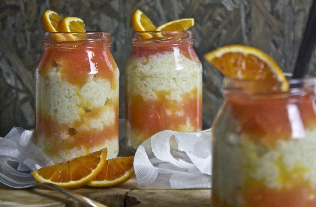 Milchreis mit Blutorangen-Sauce | Toastenstein