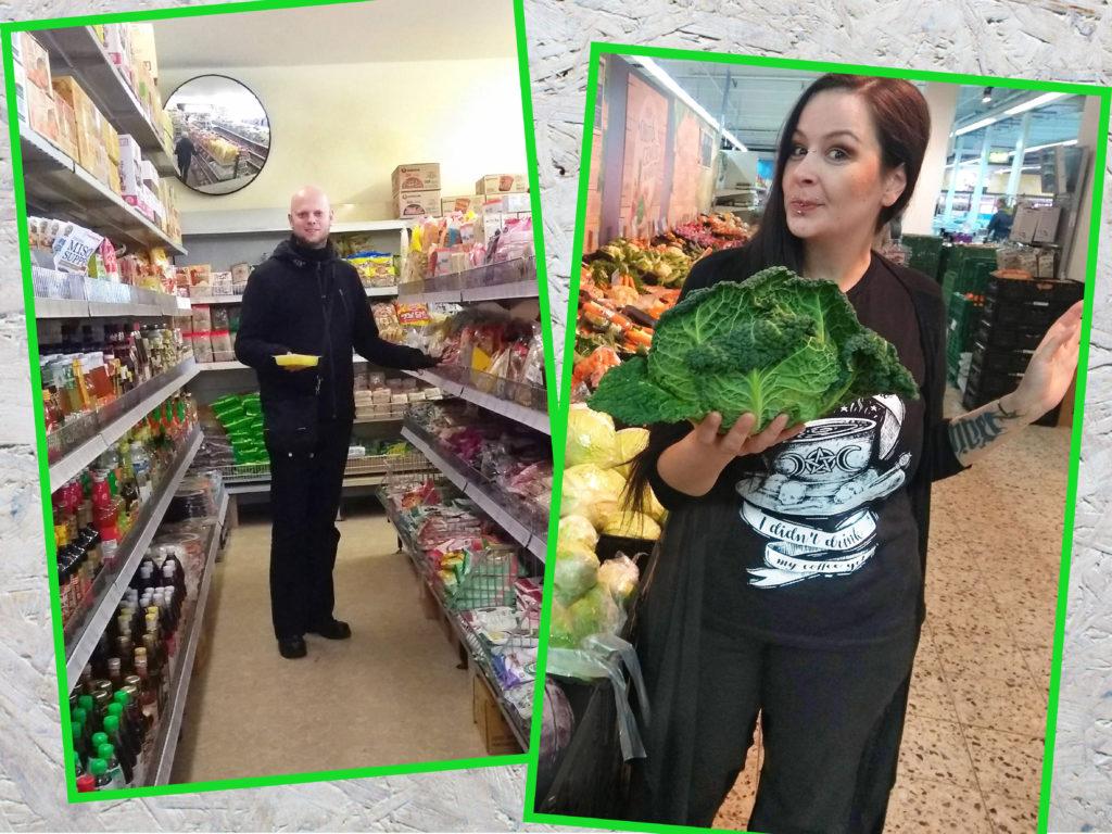 ausgepackt behind the scenes: Wo kauft Ihr eigentlich ein? Maddin und Eden im Supermarkt