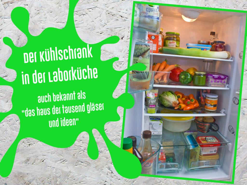 """ausgepackt behind the scenes: Ideen für Rezepte: Der Kühlschrank in der Laborküche - auch bekannt als """"das Haus der tausend Gläser und Ideen"""""""