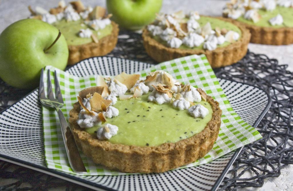 Apfel-Kiwi-Tartelettes