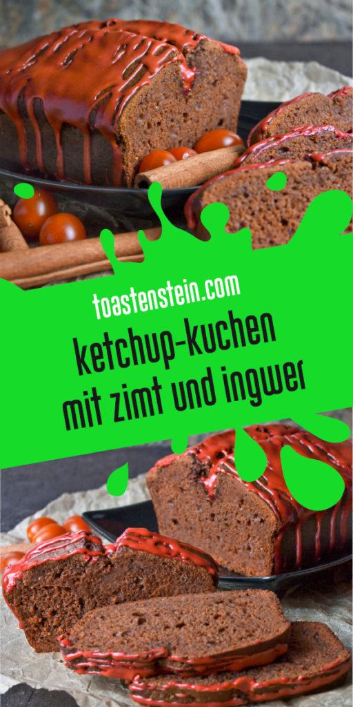 Ketchup-Kuchen mit Ingwer und Orange