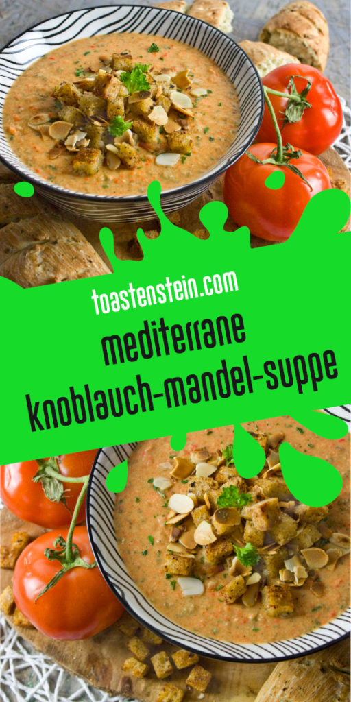 Knoblauch-Mandel-Suppe