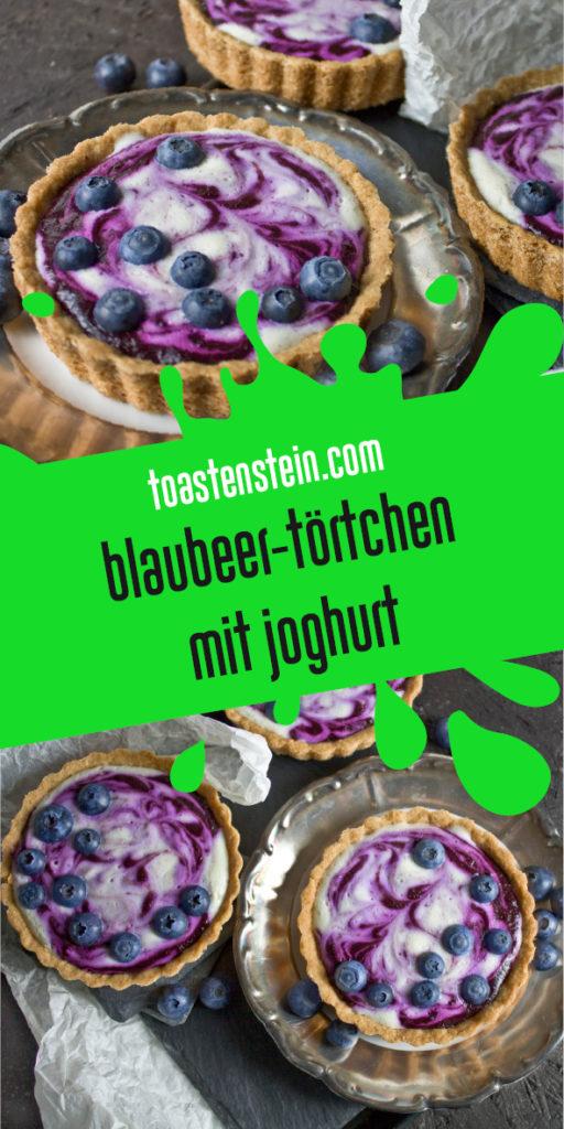 Blaubeer-Joghurt-Törtchen Toastenstein