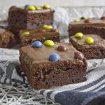 Joghurt Brownies mit Kokos-Schoko-Creme Toastenstein