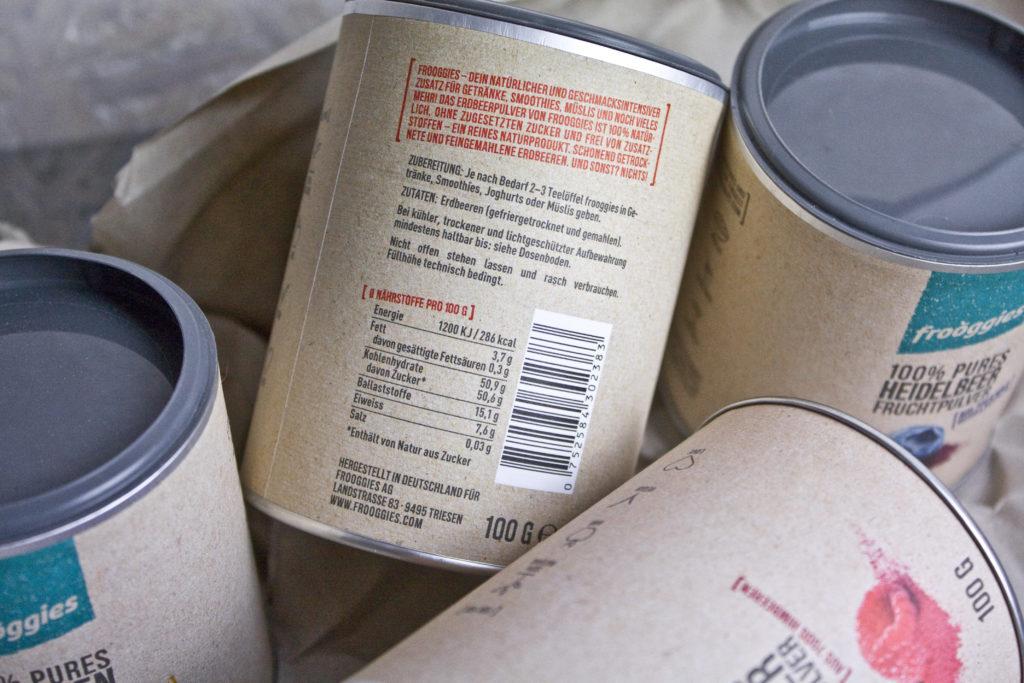 Kaufrausch Test Toastenstein Fruchtpulver Frooggies