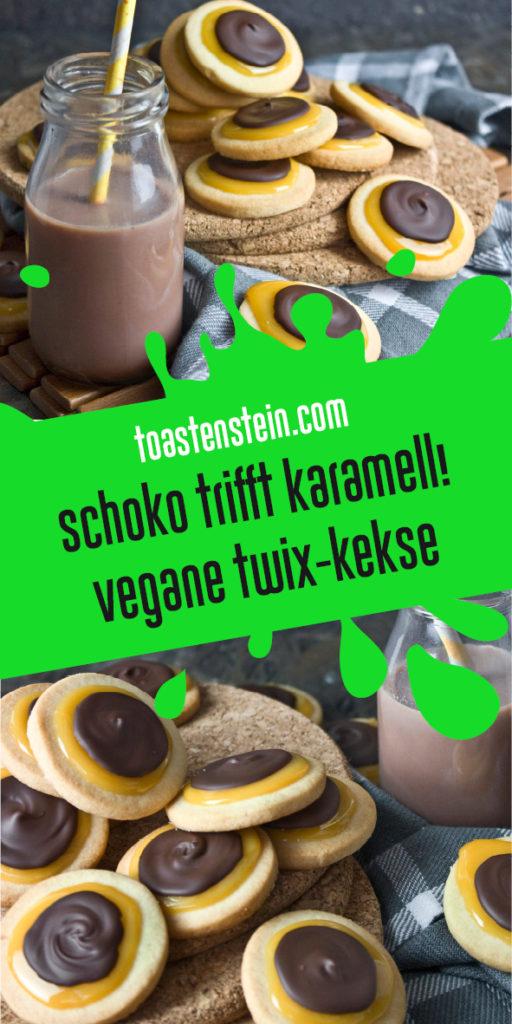 Vegane Twix-Kekse Toastenstein