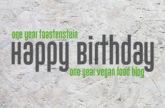 Ein Jahr Toastenstein - Rückblick zum Geburtstag