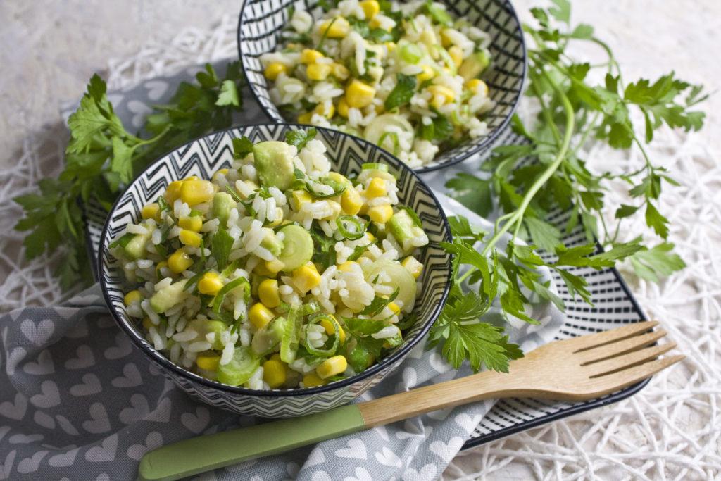 Reis-Mais-Salat mit Limetten-Dressing | Toastenstein