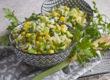 Reis-Mais-Salat mit Limetten-Dressing