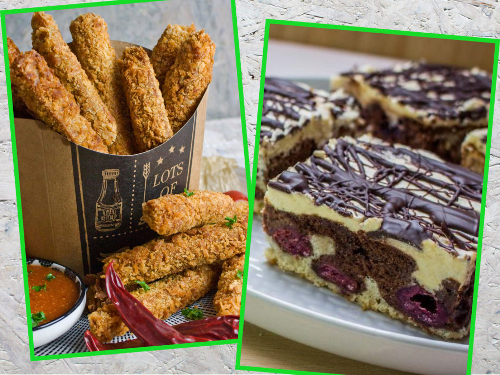 Swap, Seitan-Sticks, Donauwelle, Geburtstagsrückblick, Toastenstein, Food Blog