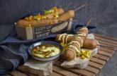 Vegane Corn Dogs mit würzigen Seitan-Würstchen [Filling your Mind]