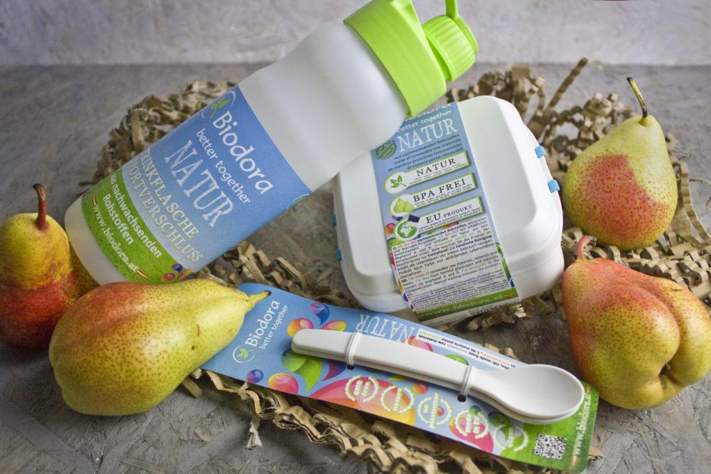 Zero Waste - Nachhaltigkeit in der Küche - Vorratsdosen und Trinkflaschen für unterwegs von Biodora | Toastenstein