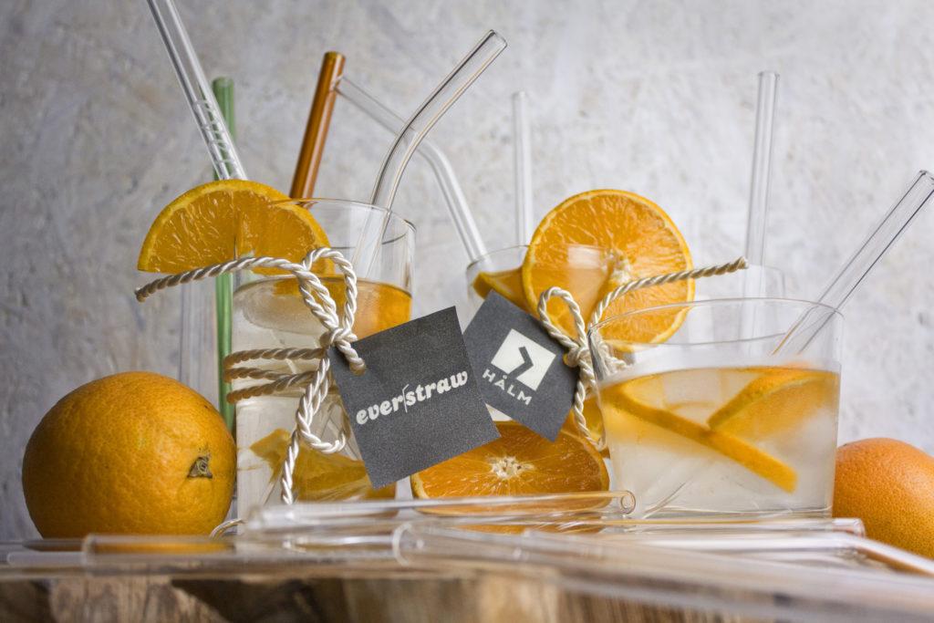 Zero Waste - Nachhaltigkeit in der Küche - Glasstrohhalme von everstraw und HALM | Toastenstein