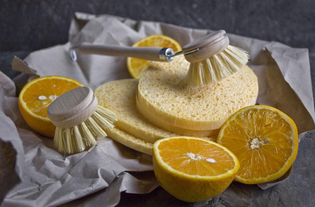 Zero Waste - Nachhaltigkeit in der Küche - Holz-statt Plastikbürste verwenden! | Toastenstein