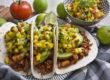 Jackfruit-Tacos mit fruchtiger Mango-Salsa