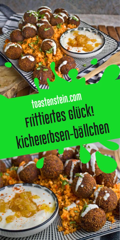 Würzige Kichererbsen-Bällchen | Toastenstein
