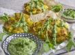 Quetschkartoffeln mit Grüner Sauce