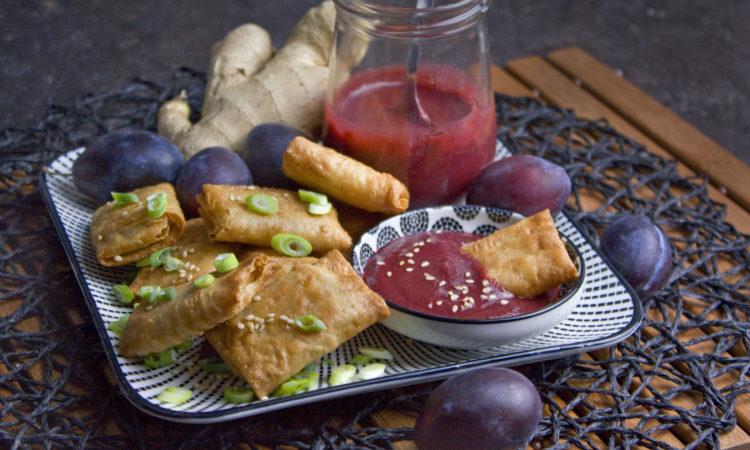Asiatische Pflaumen-Sauce