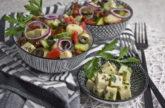 Gnocchisalat mit Kichererbsen-Feta [Cutiekulla]