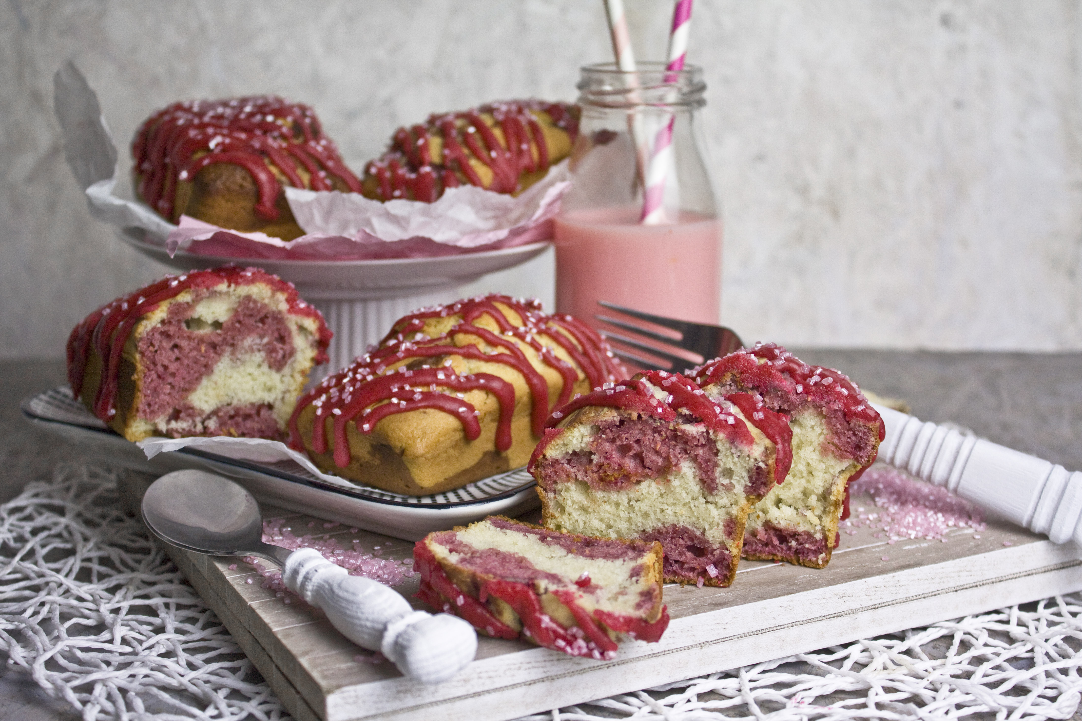 Himbeer-Marmorkuchen – Klassiker mit Twist
