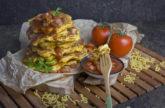 Mac'n'Cheese Pancakes – Carbs on Carbs, baby!